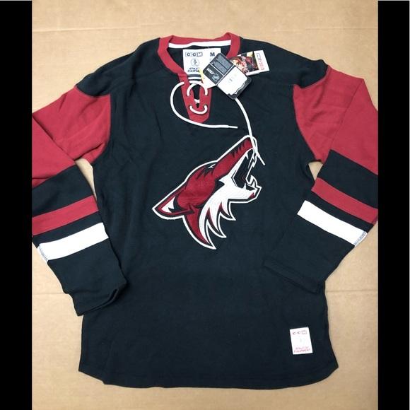 e033970b5 CCM Shirts | 23 Arizona Coyotes Lace Sweatshirt Nwt | Poshmark